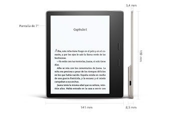 E-reader Kindle | E-reader con pantalla táctil