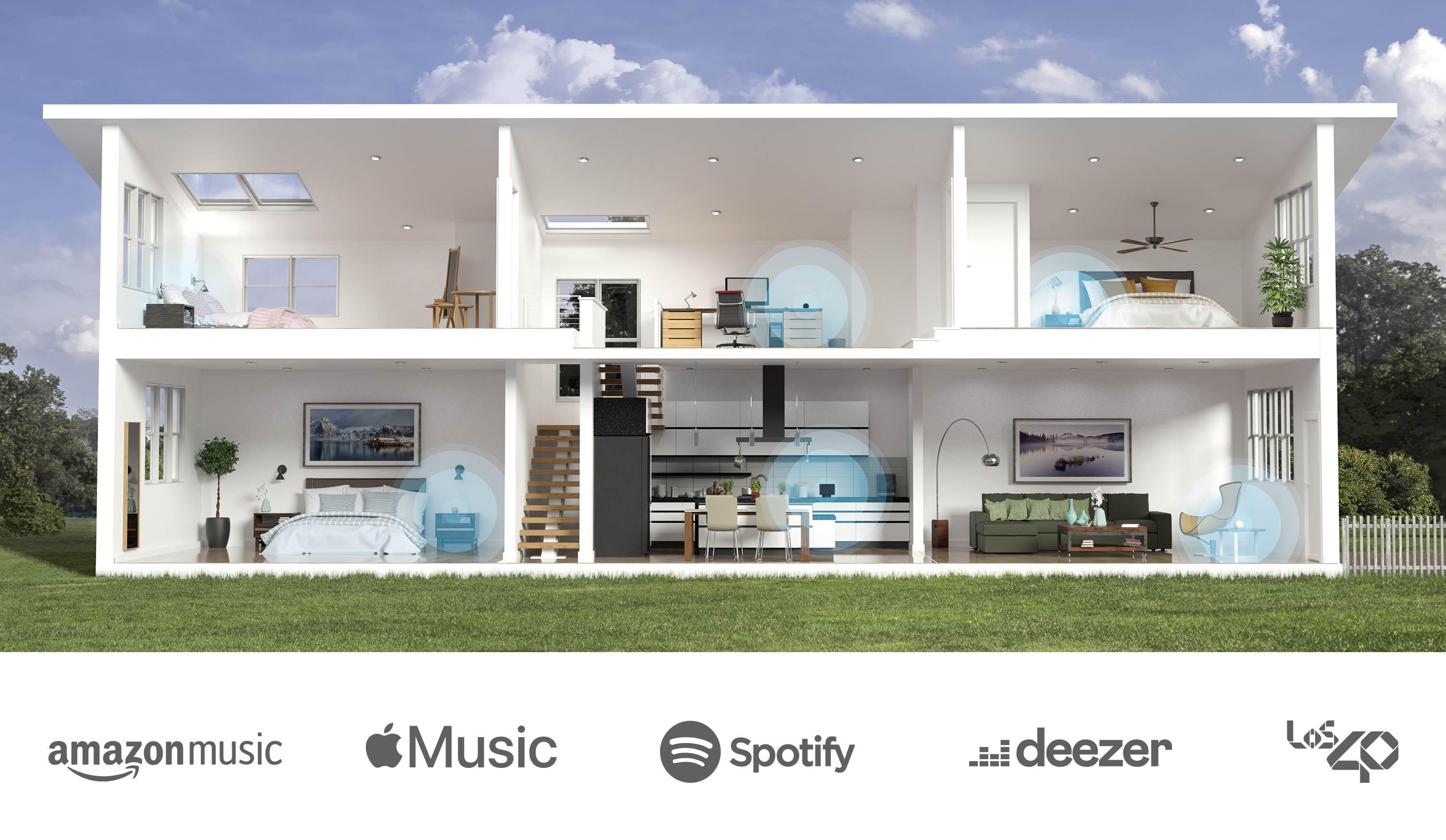 """""""Alexa, pon música en todas partes"""""""