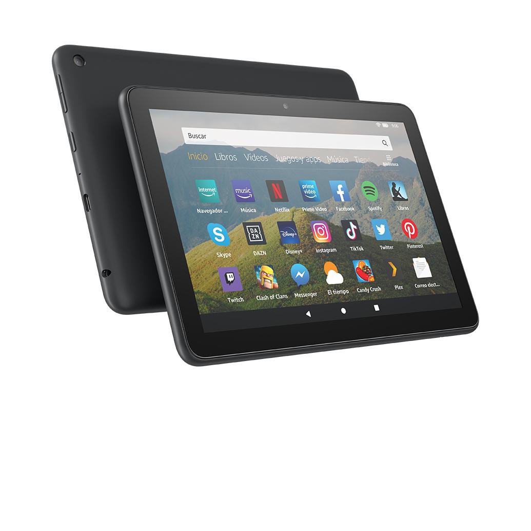 Nuevo tablet Fire HD 8, pantalla HD de 8 pulgadas, 32 GB, negro ...