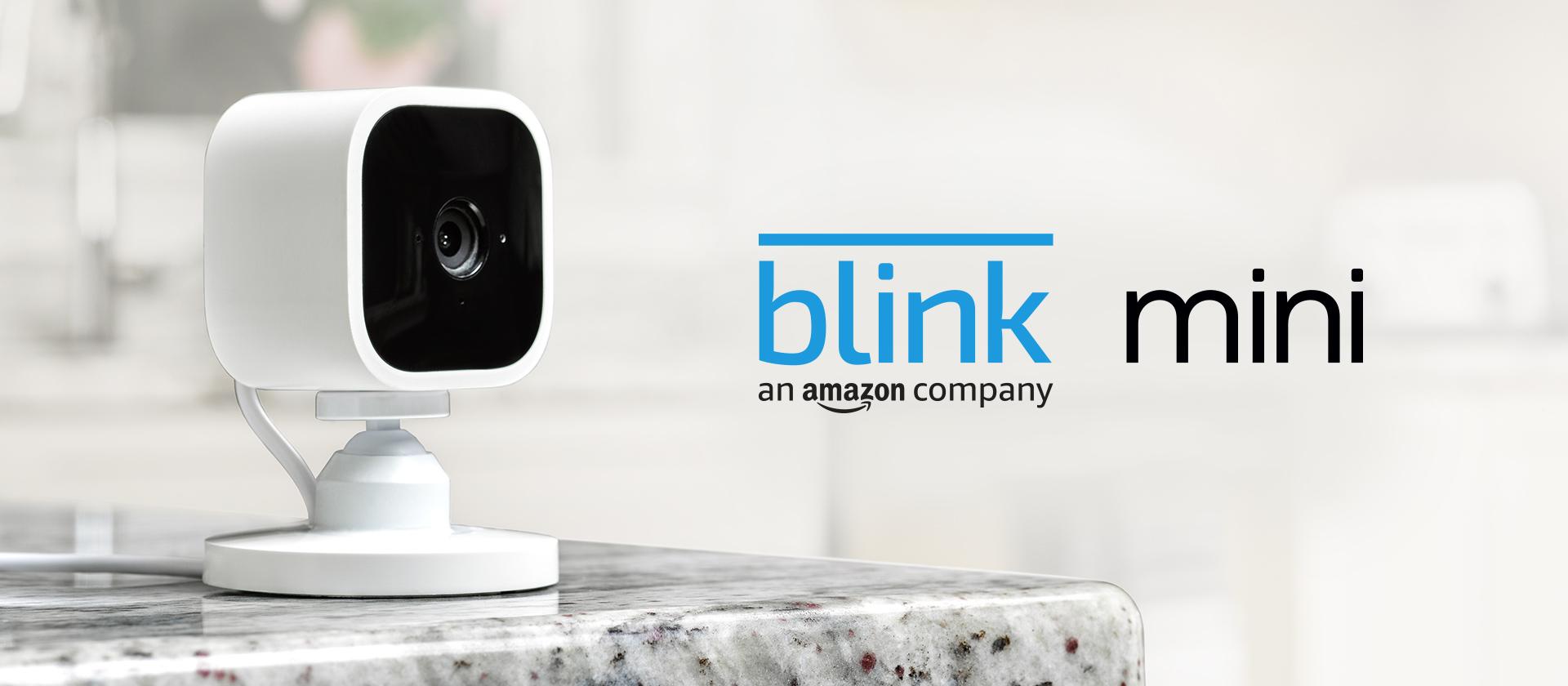 Presentamos la Blink Mini, cámara de seguridad inteligente, compacta, para interiores, con enchufe, resolución de vídeo HD 1080p, detección de movimiento y compatible con Alexa – 1 Cámara: Amazon.es