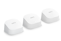 Sistema wifi de malla Amazon eero 6: 3 unidades