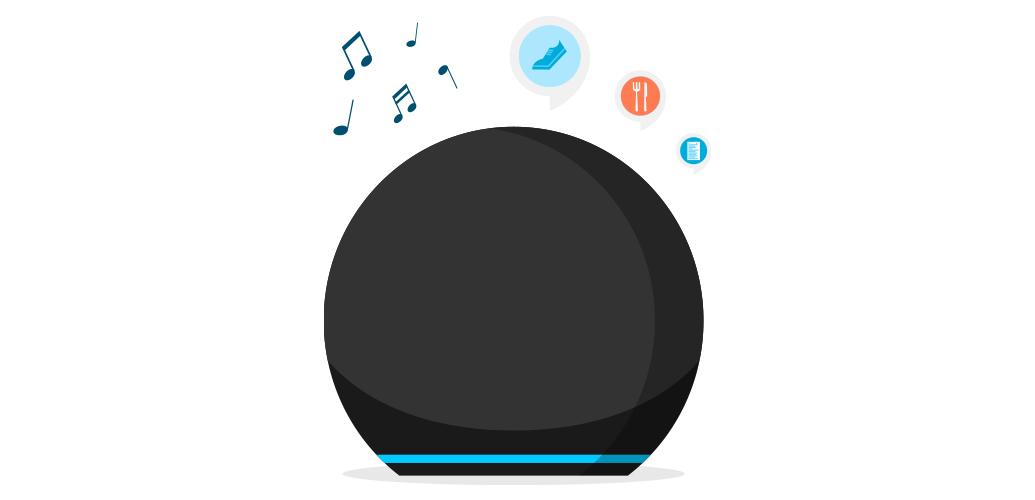 3. Pídele a Alexa música, la previsión del tiempo, las noticias y más.