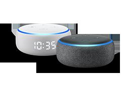 Echo Dot (3.ª generación) - Altavoz inteligente con Alexa, tela de color antracita: Amazon.es