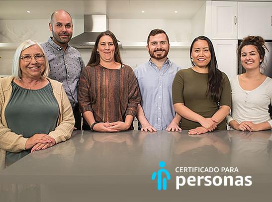 Certificado para personas