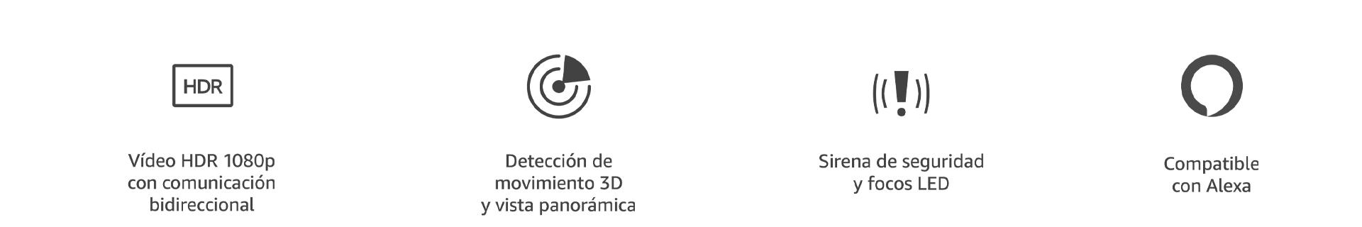 Vídeo HDR 1080p con comunicación bidireccional