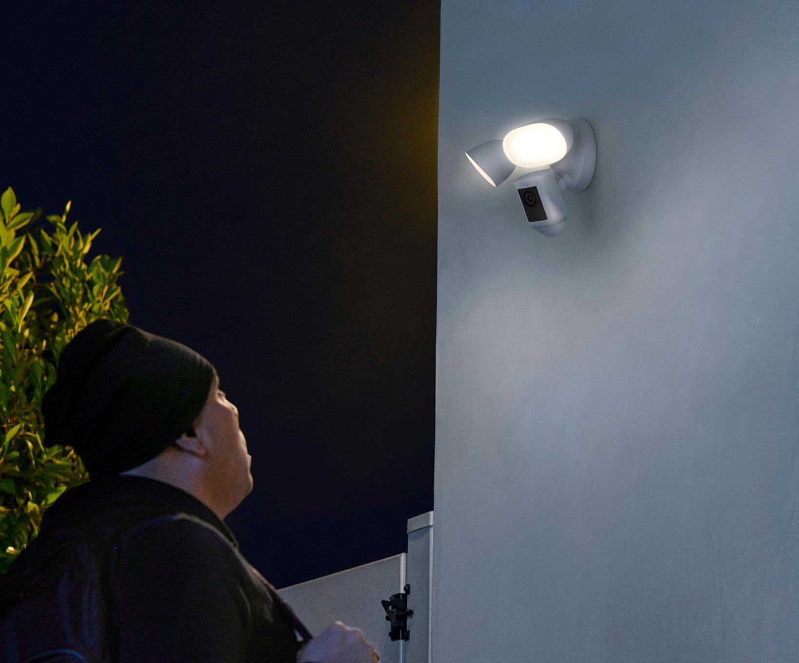 Seguridad exterior con una dimensión extra