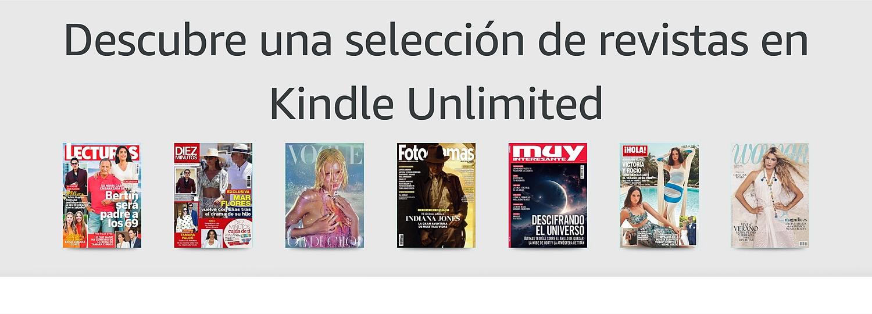 Revistas digitales en Kindle Unlimited