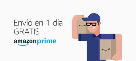 Envío en 1 día GRATIS con Amazon Premium