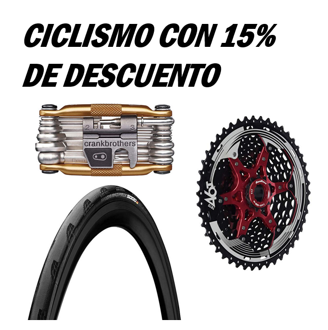 -15% en una selección de Ciclismo