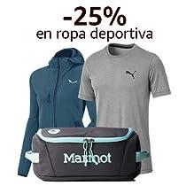 -25% en marcas destacadas de ropa deportiva