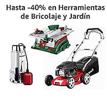 Hasta -40% en Herramientas de Bricolaje y Jardín