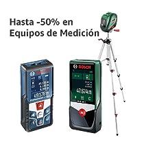 Hasta -50% en Equipos de Medición Bosch