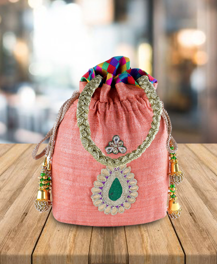 Up to 50% off Jute & Silk handbags