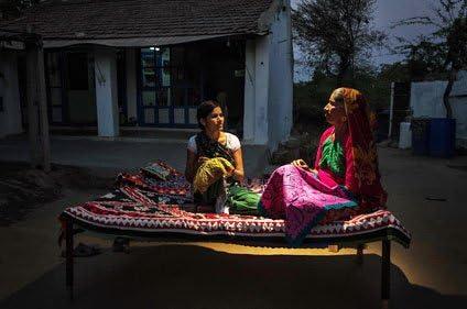 women discussing saheli