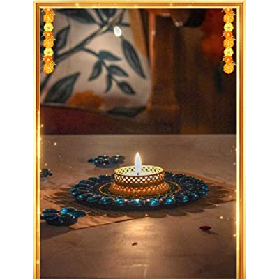Bombay Haat tealight candle holder