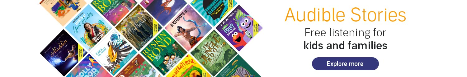 Audible Stories: Free Listening for Kids and Families
