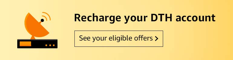 Amazon Pay: Pay Your DTH & Electricity Bill For Rs.20 or Above & get Cashback between Rs.10 to Rs.1000