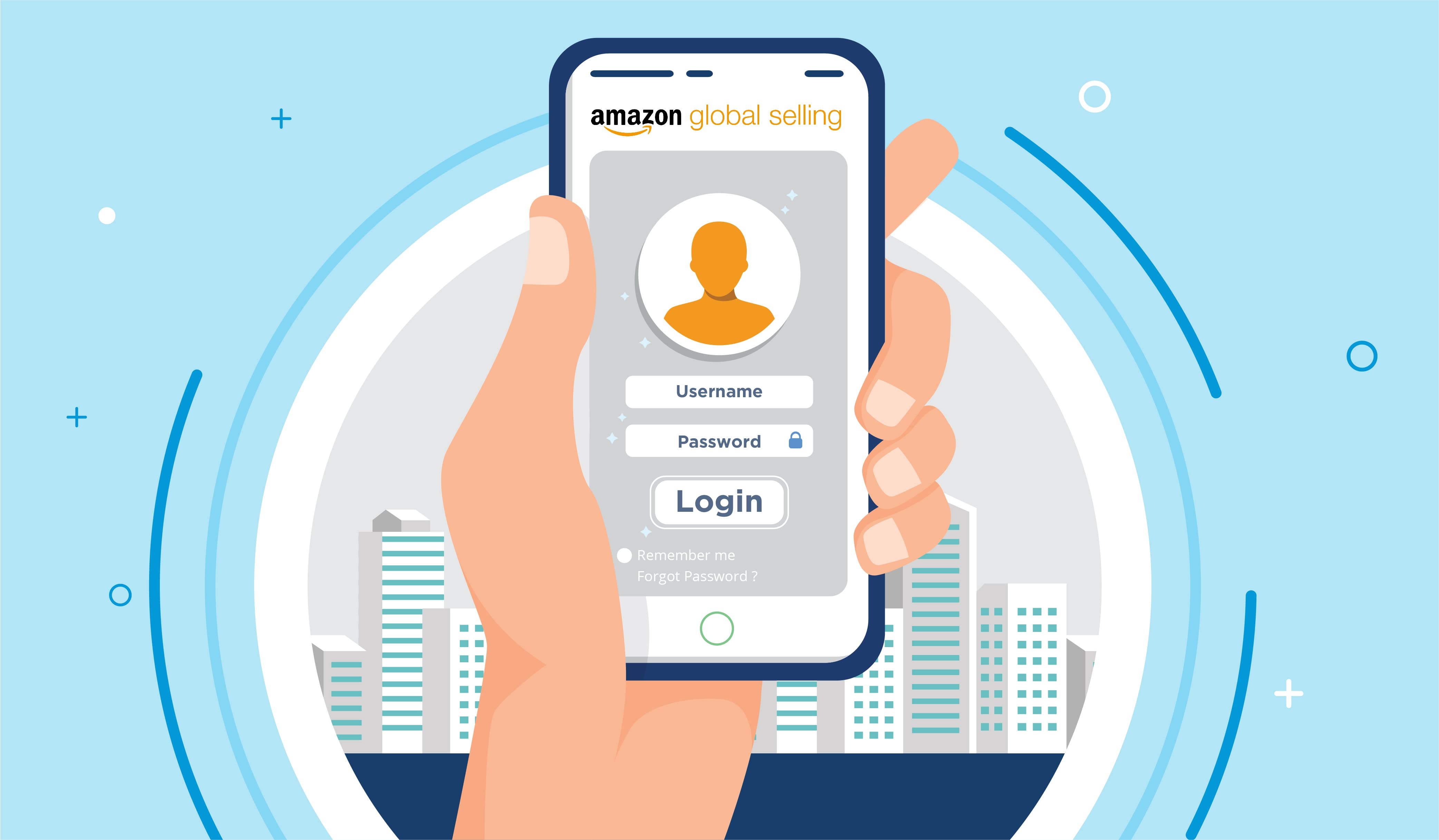 How to register as amazon global seller