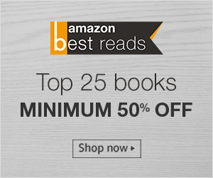 Amazon picks top 25 best-selling books on the 1st of every month which are available at minimum 50% off for the entire month. Buy best-selling books to read from the August Best Reads List. Read books by: Chetan Bhagat | Preeti Shenoy | Amish Tripathi
