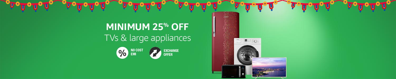 Deals on Home & Large Appliances