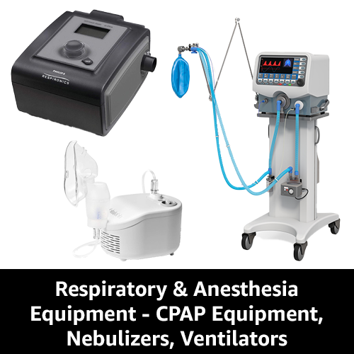Sell Respiratory and Anesthesia Equipment