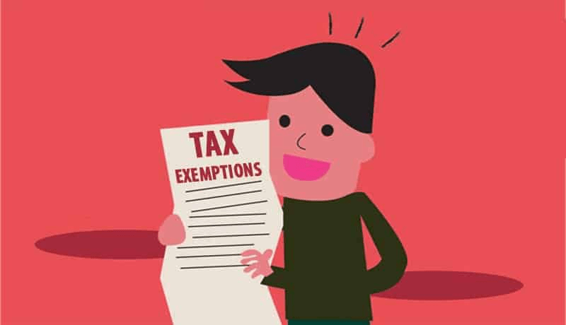GST exempted categories