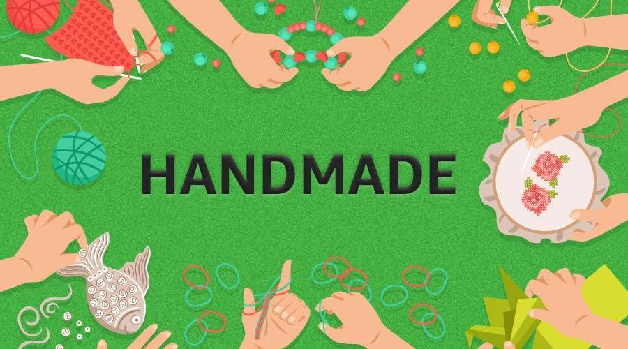 Handmade products on Amazon