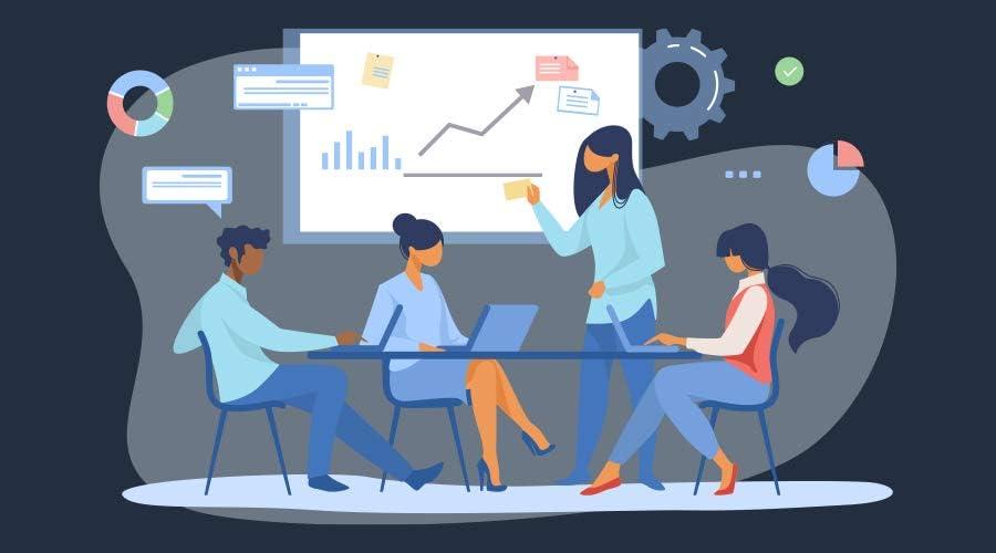 sales insights illustration