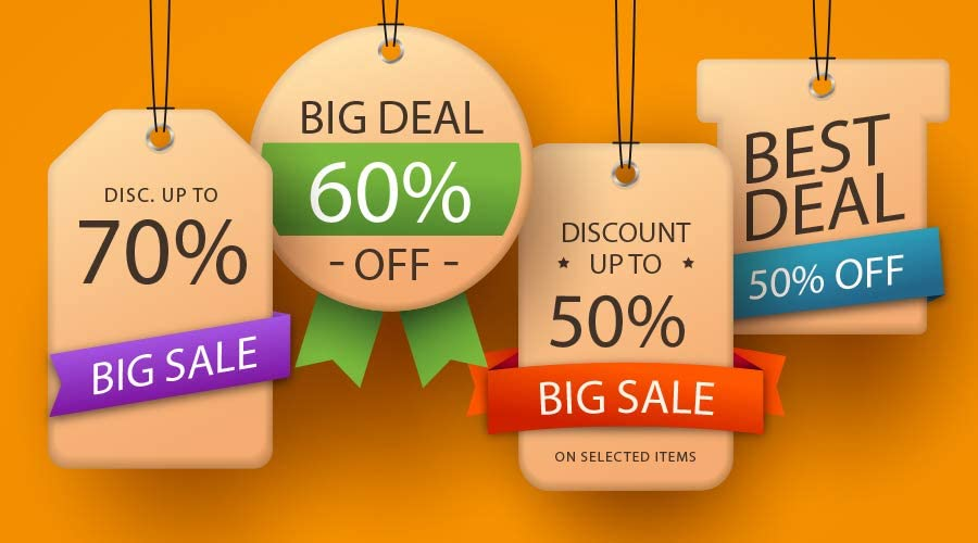 deals discount tags online selling representation