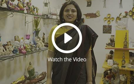 Priya at her shop