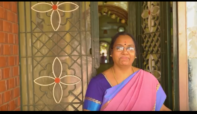 Rani at her home