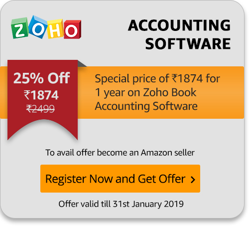 Special Zoho offer for Amazon Sellers