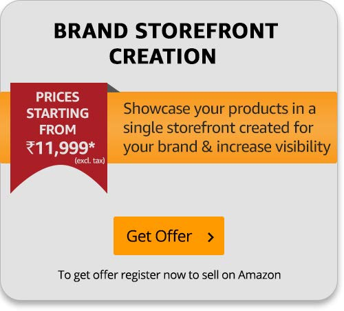 Brand storefront creation for Amazon Sellers