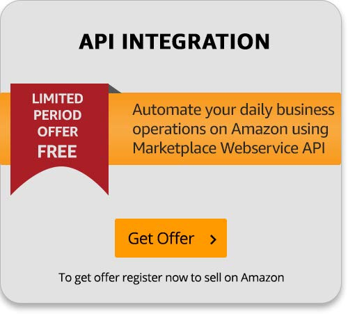 API Integration offer for Amazon Sellers
