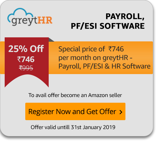 Special GreytHR offer for Amazon Sellers