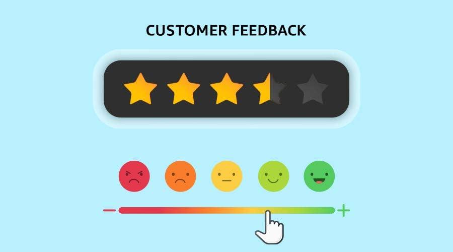 customer feedback when selling online