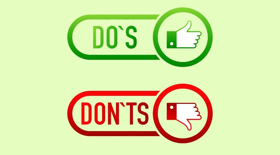 Do's and Don'ts of Online selling representation