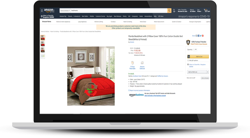Sell home products online on Amazon India