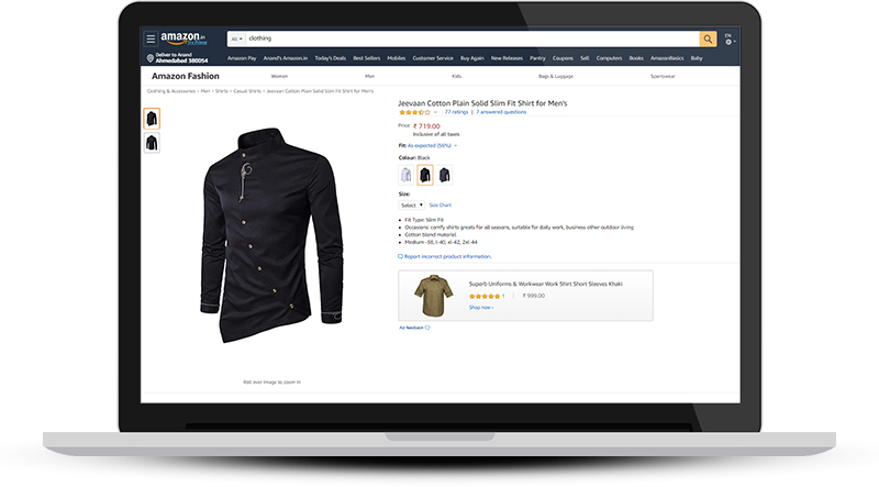 Sell Clothes online on Amazon.in