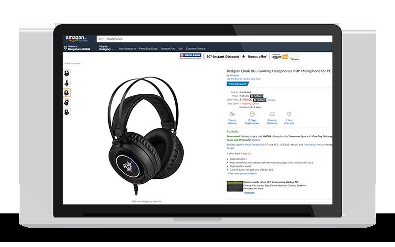Headphones on Sale on Amazon.in