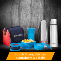 Sell Lunch boxes, Kitchen Containers and Flasks Online