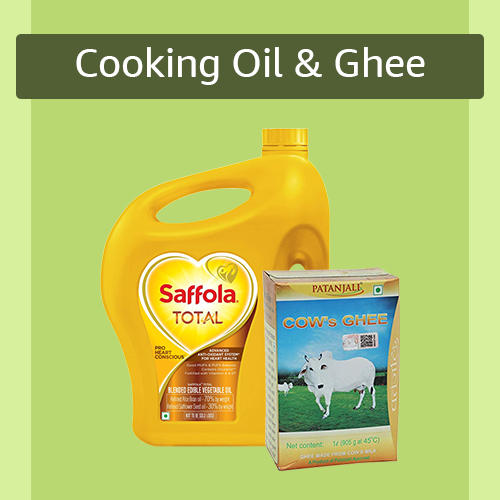 Sell Cooking Oil & Ghee