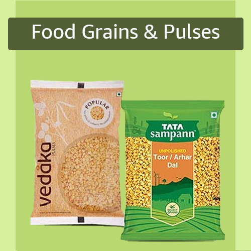 Sell Food grains & Pulses online