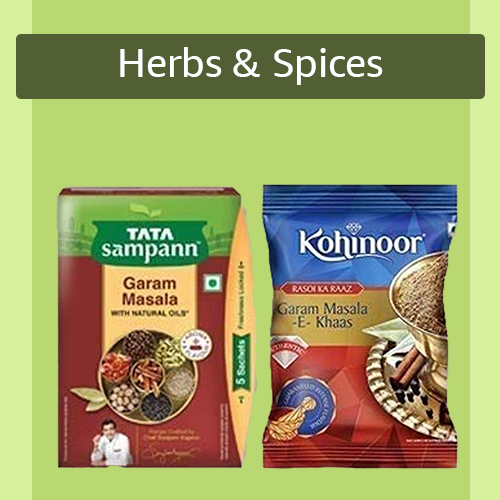 Sell Herbs & Spices online