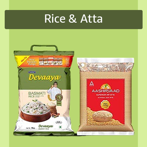Sell Rice and Atta