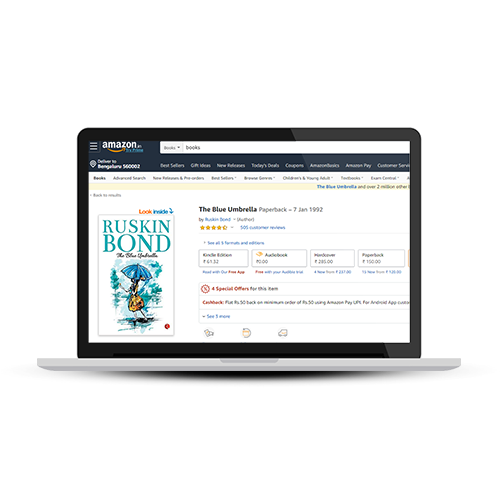 Sell books online on Amazon.in