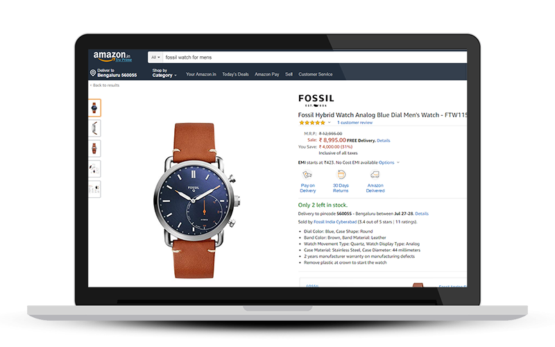 watch on sale amazon when you sell watches online on amazon