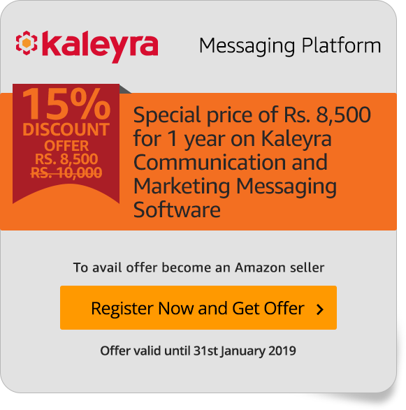 Special Kalreya offer for Amazon Sellers