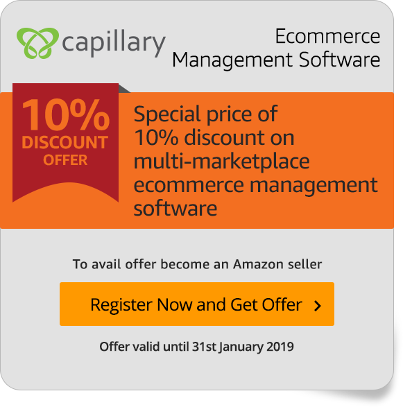 Special Capillary offer for Amazon Sellers