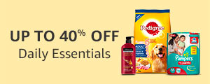 Up to 40% off Daily Essentials